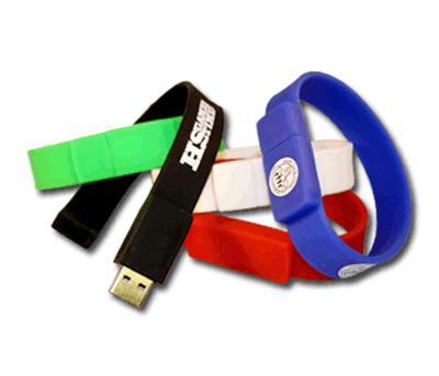 Silicone Men Wristband USB Flash Drive 128GB Flash Drive USB 3.0