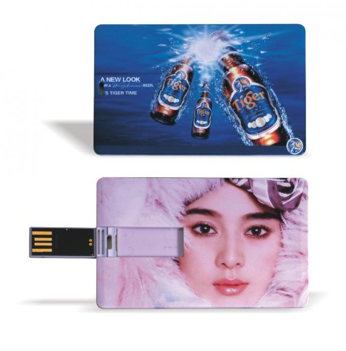 Slim Bank Credit Card USB Drive Custom 32GB 64GB Pen Drive