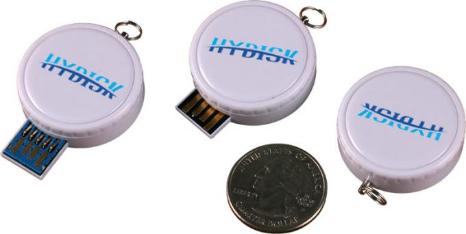 Round customised usb stick promotional swivel usb flash drive