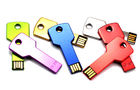 Stylish Metal Flash USB Thumb Drives Key Shaped Memory 64MB - 64GB