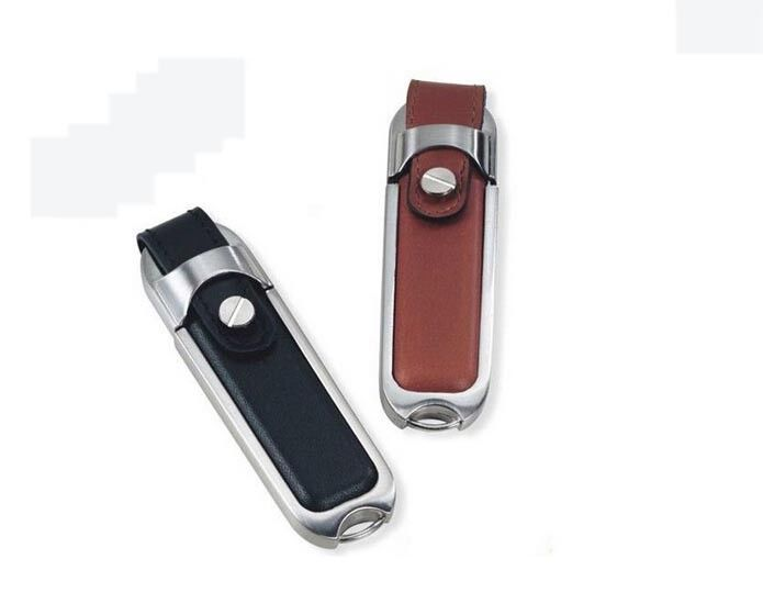Creative Memory Leather USB Flash Drive 4gb / 8gb / 16gb Promotional